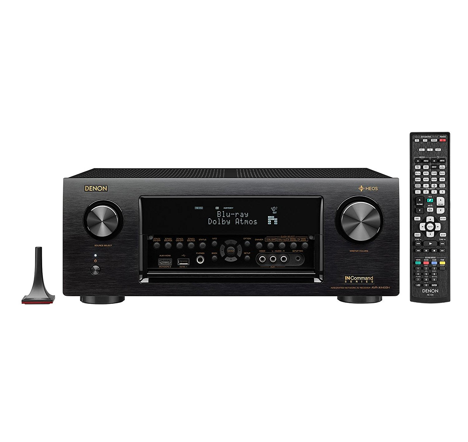 Denon AVR-X4400H 9.2 Channel Ultra HD AV Receiver with Dolby Atmos OPEN BOX LIKE New by Denon