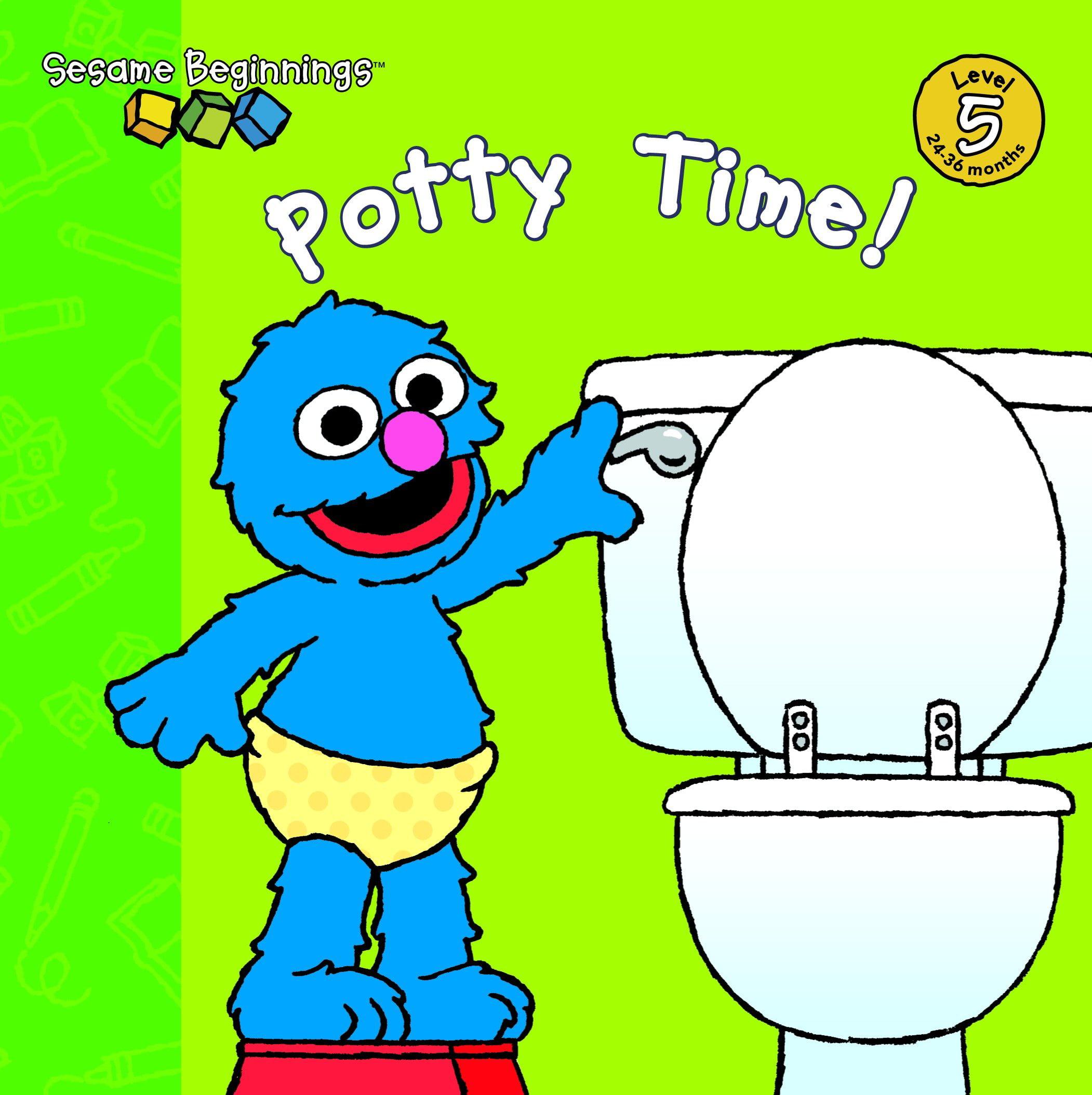 Sesame Beginnings: Potty Time! (Sesame Street) (Board Book)