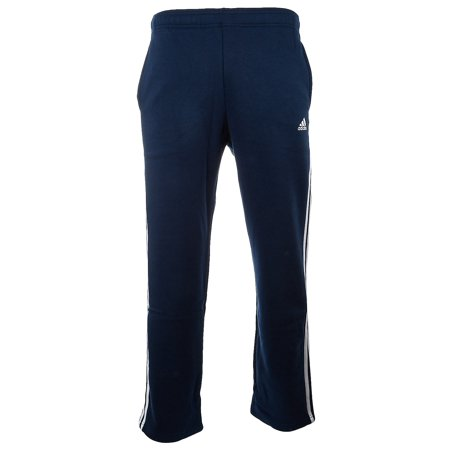 Adidas Essentials 3 Stripe Regular Fit Fleece Pants  - Mens Adidas Mens Rod Laver