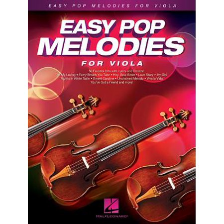 Easy Pop Melodies for Viola ()