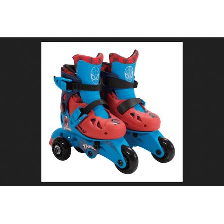 Bravo Spider Man Roller Skates Multi Colored Plastic