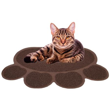 Cat Litter Mat Catcher Smartgrip Paw Shaped Grass Like