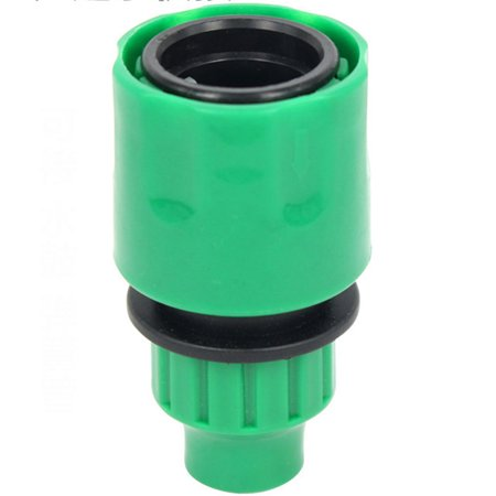 3/8 Inch Garden Micro Water Hose Fast Joint Plastic Connector (Plastic Hose Connector)