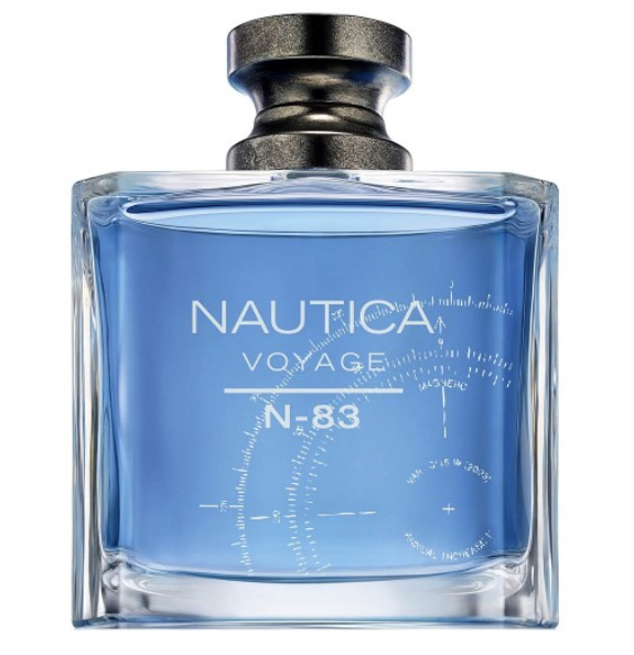 Voyage N-83 by Nautica, Eau de Toilette for Men, 3.4 oz