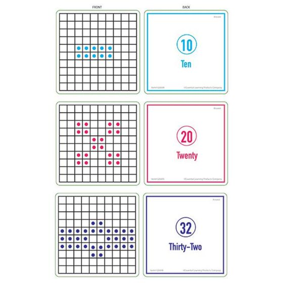 205aa7bb4875 Essential Learning Products 626697 Sensational Math How Many Activity Cards  Set of 3 Levels