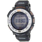 Men's Protrek PRG260-1 Black Rubber Quartz Sport Watch