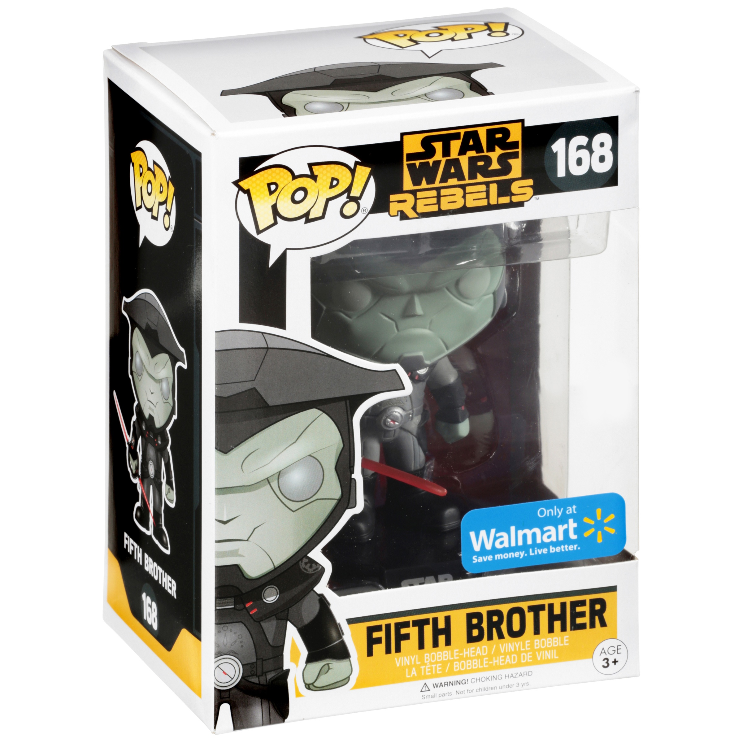 Funko POP! Star Wars Rebels, Fifth Brother, Walmart Exclusive