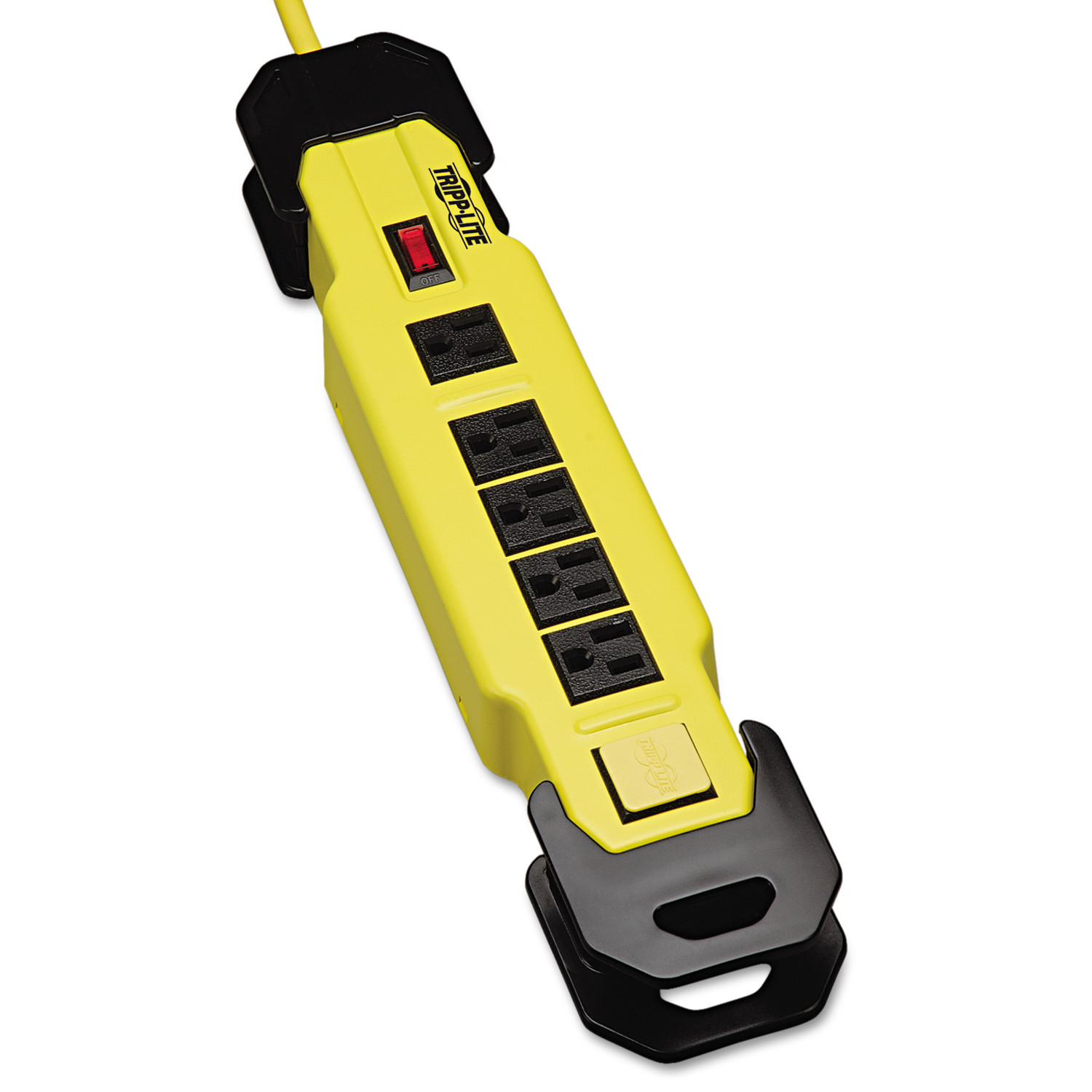 Tripp Lite 8-Outlet Safety Power Strip With GFCI Plug - 9' Cord