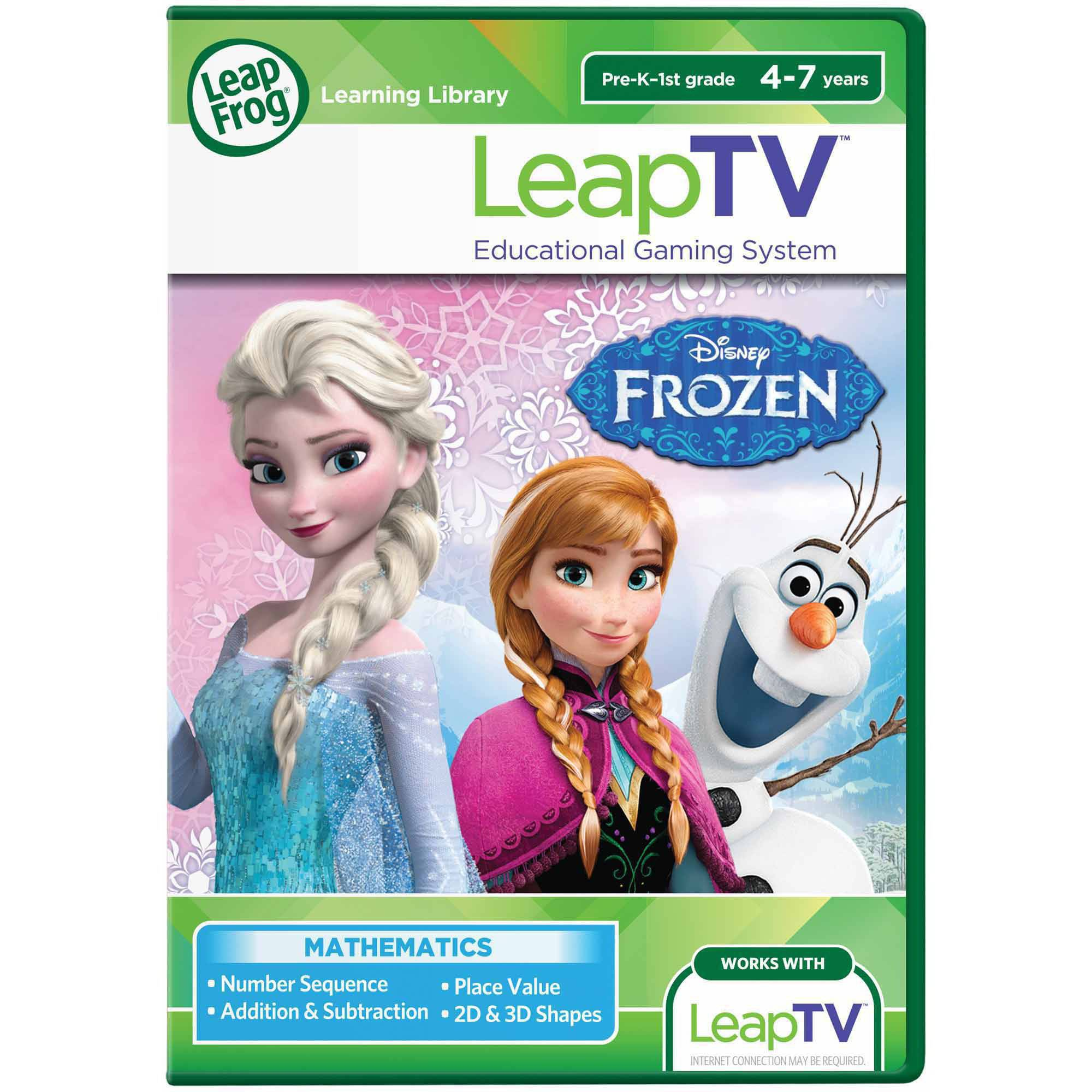 LeapFrog LeapTV: Disney Frozen: Arendelle's Winter Festival Educational, Active Video Game