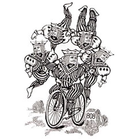 Bicycle Built For Five by Ton Onosaka - Trick