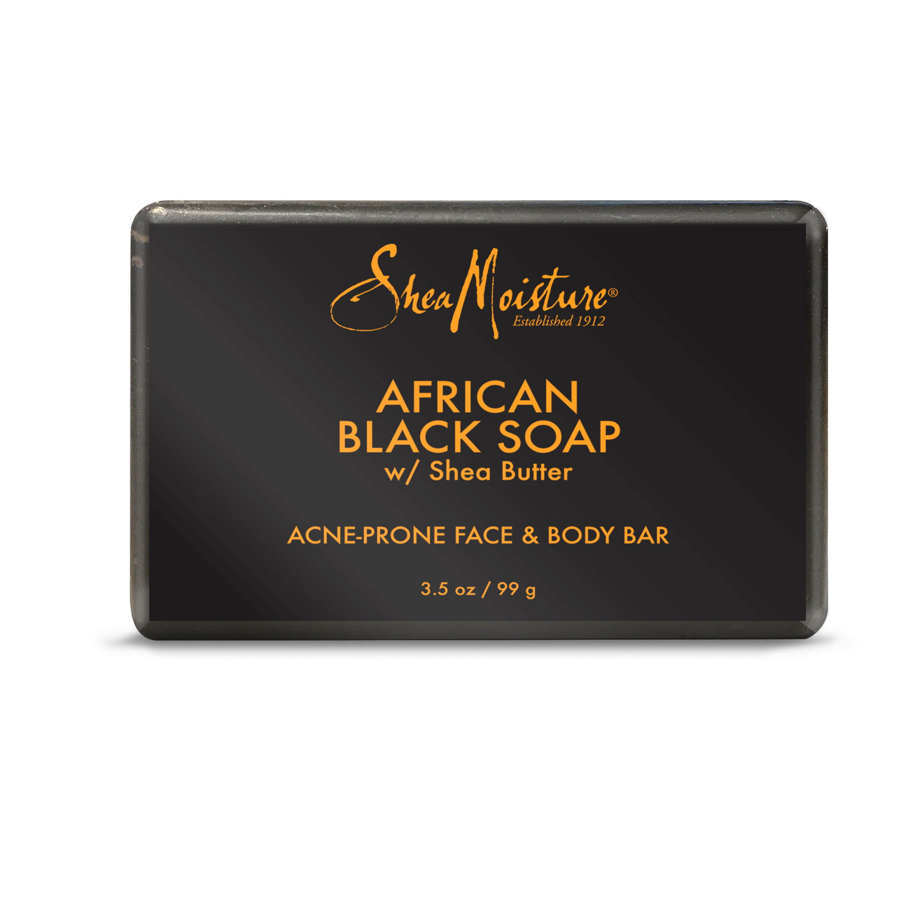 African Black Soap - Soothes and Refreshes Blemish-Prone Skin with Aloe and Organic Shea Butter - Sulfate-Free with Natural and Organic Ingredients - Clarifies Blemish-Prone Skin (3.5 oz)