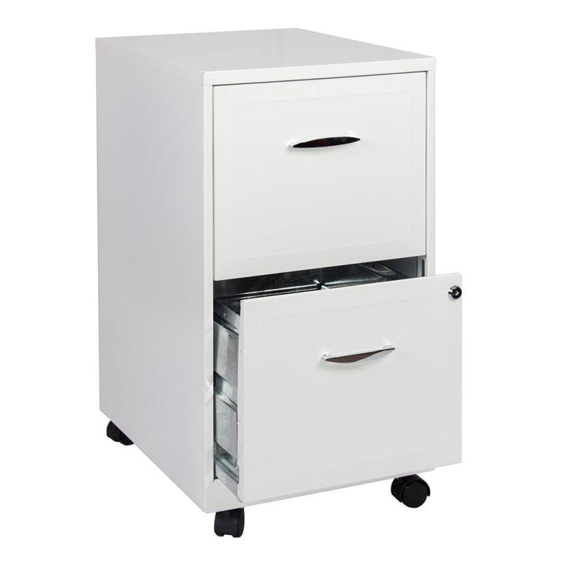 2 Drawer Steel Mobile File Cabinet In, File Cabinet 2 Drawer Metal