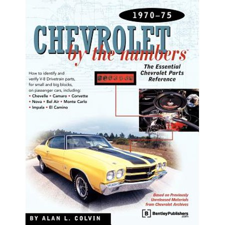 Chevrolet by the Numbers 1970-75 : How to Identify and Verify All V-8 Drivetrain Parts for Small and Big