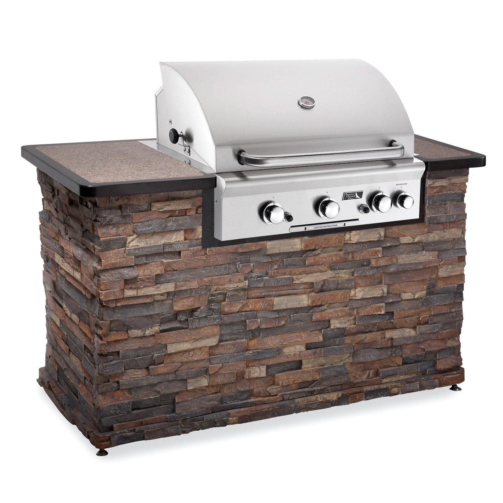 American Outdoor Grill 30 In 3 Burner Built Gas With Optional Liner