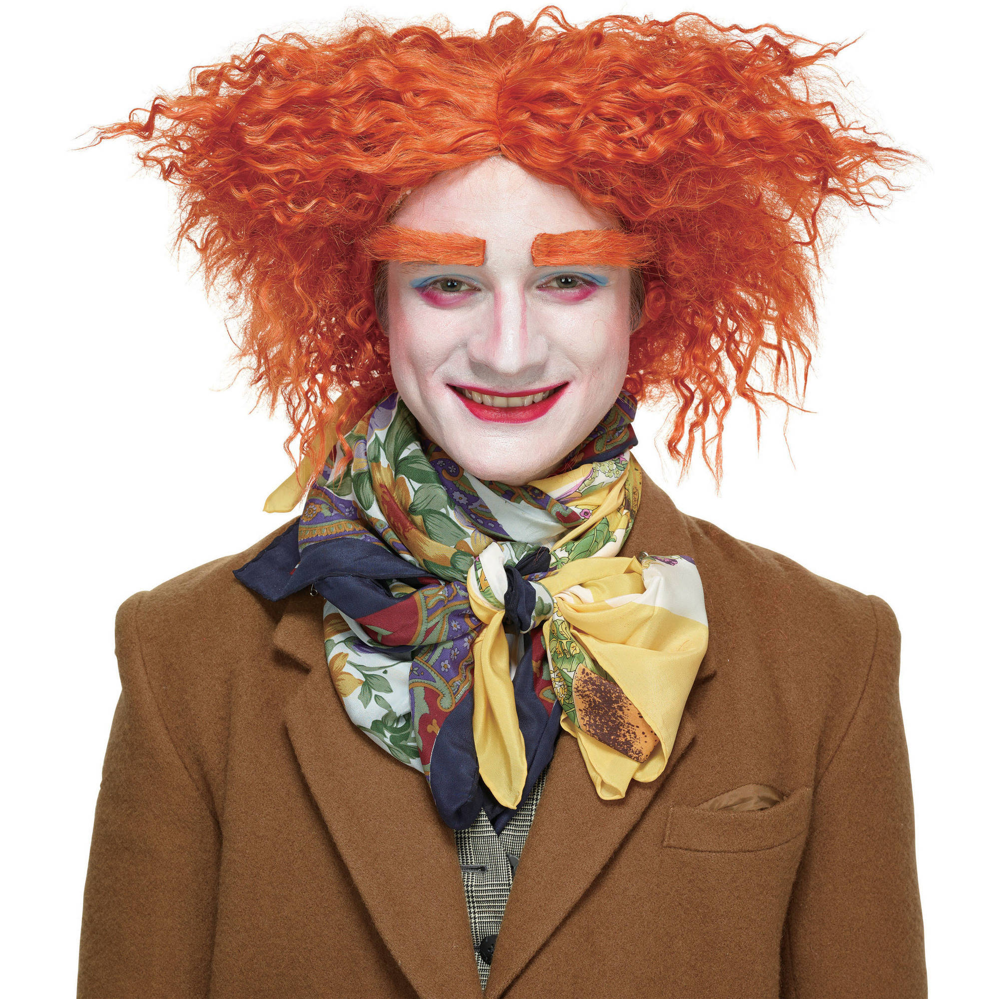 Mad Hatter Wig Halloween Accessory