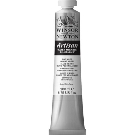 Winsor & Newton Artisan Water Mixable Oil Colours, 200ml Tube, Zinc White