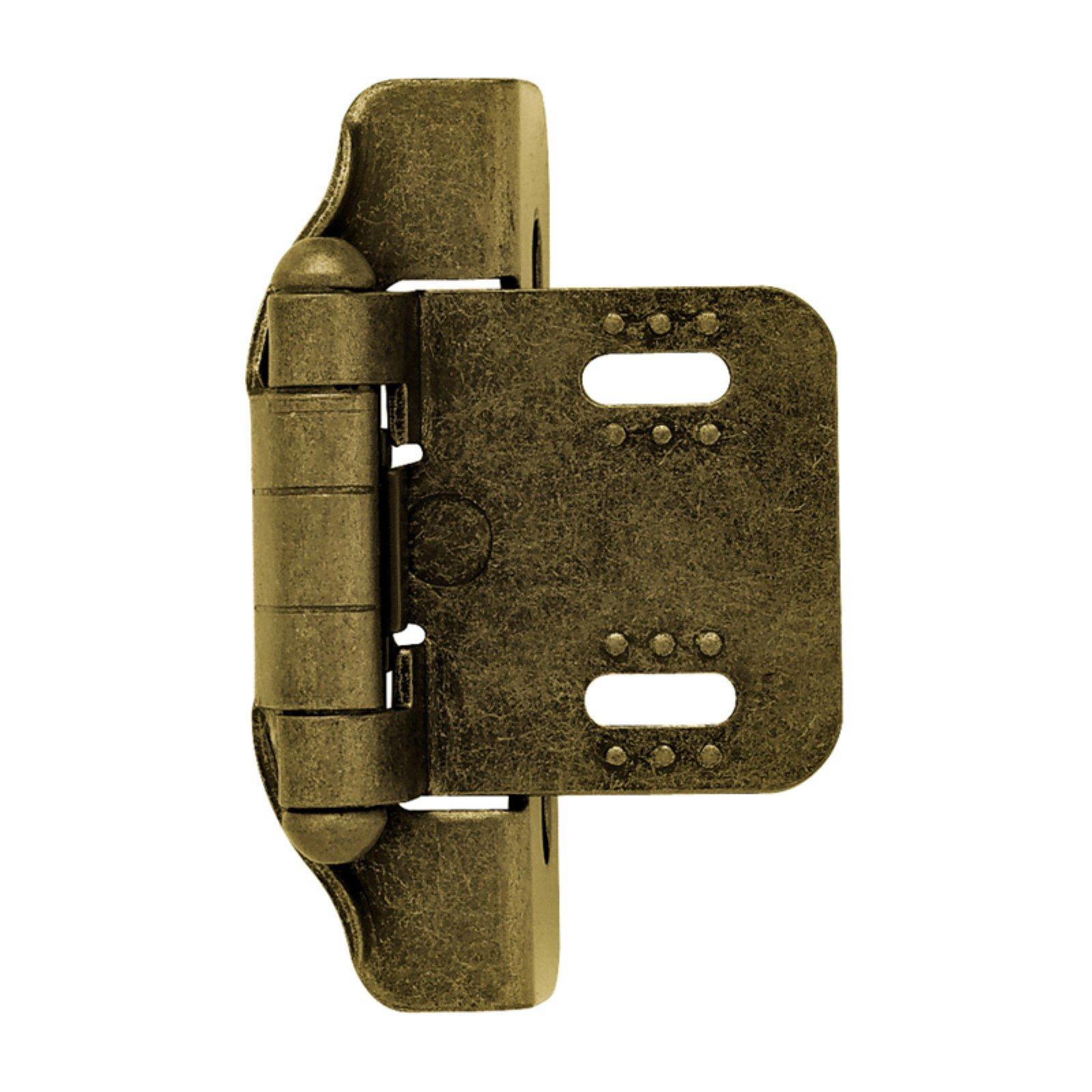 Liberty Hardware Semi-Wrap Overlay Hinge
