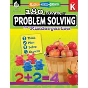 180 Days of Problem Solving for Kindergarten (Grade K) : Practice, Assess, Diagnose