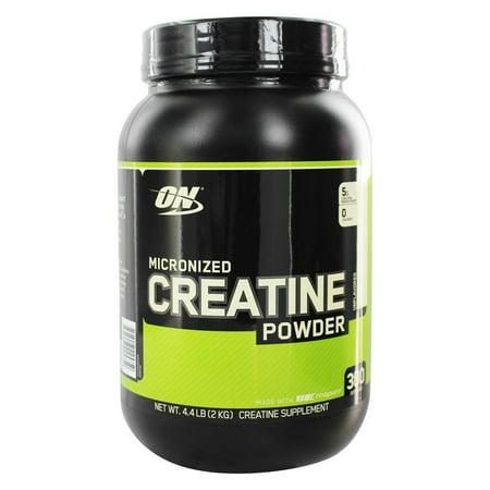 Optimum Nutrition - Micronized Creatine Powder Creapure Unflavored - 2000 Grams