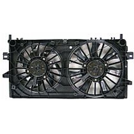 Go-Parts OE Replacement for 2004 - 2008 Pontiac Grand Prix Radiator Cooling Fan Assembly Performance GM3115188 Replacement For Pontiac Grand Prix Pontiac Grand Prix Radiator Cooling