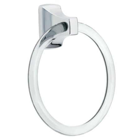 Collection Towel Ring - Moen P5500 Lucite Towel Ring from the Donner Contemporary Collection