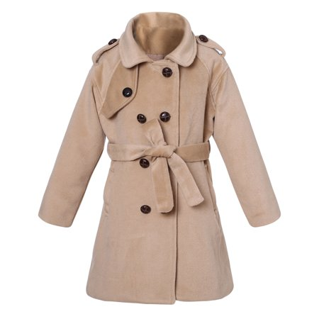 Richie House Little Girls Fall Jacket with Belt RH2236 - Fall Items