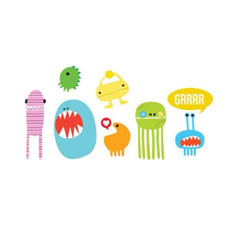Tattly Temporary Tattoos - Monster - Set of 8 (Monster Tattoo)