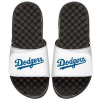 Los Angeles Dodgers ISlide Youth Wordmark Slide Sandals - White