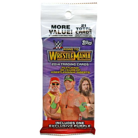 Classic Wrestling Card (WWE Wrestling 2014 Road to WrestleMania Trading Card Value Pack [Retail Edition])