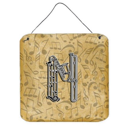 Letter N Musical Instrument Alphabet Wall and Door Hanging Prints