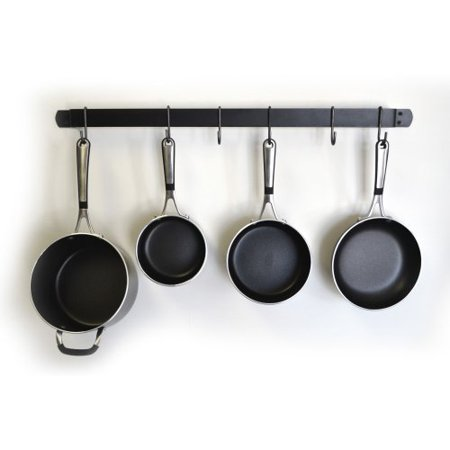 J j wire wall pot and pan rack for Kitchen s hooks for pots and pans