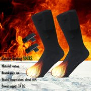 Hotwon Chargable Battery Electric Heated Socks Boot Feet Warmer Winter Outdoor Hot