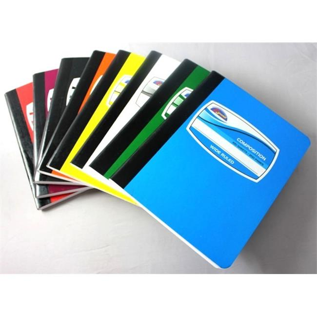 DDI 1392731 Composition Book Solid Color Cover 8. 25 x 6. 50 Case Of 80