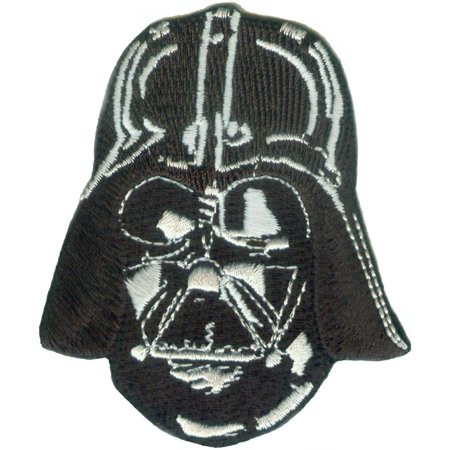 Superheroes Darth Vader Helmet Embroidered Iron/Sew-on Applique Patches