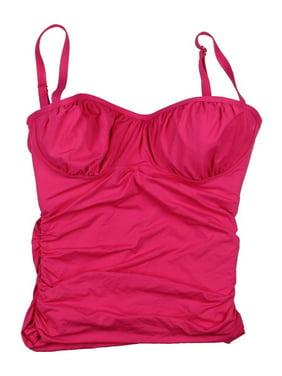 2e7b937f99 Product Image Coco Rave Womens Shirred Underwire Swim Top Separates