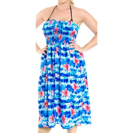 82823a36c76c0 HAPPY BAY - Womens Maxi Skirt Beach wear Swimsuit Swimwear Cover up Tube  Top Halter Neck - Walmart.com