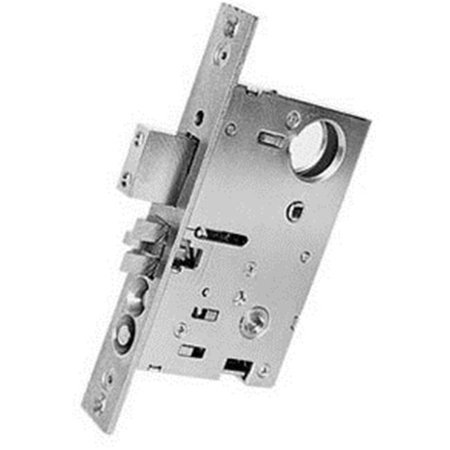 Entrance Lock Oil (Baldwin 6075.L Left Handed Entrance, Emergency Egress Mortise Lock with 2-3/4