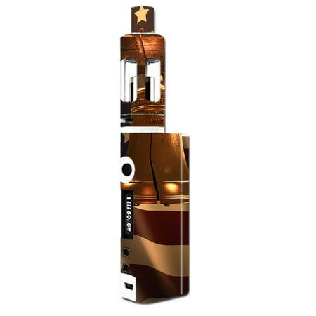 Skin Decal For Kangertech Subox Mini Vape Mod   Liberty Bell America Strong