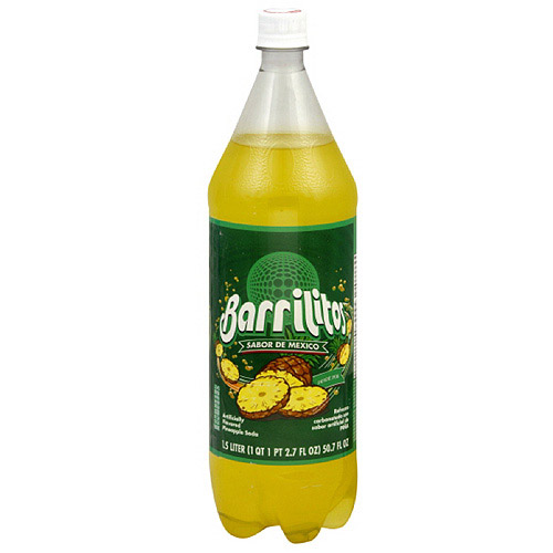 Barrilitos Pineapple Soda, 2.7 oz (Pack of 8)