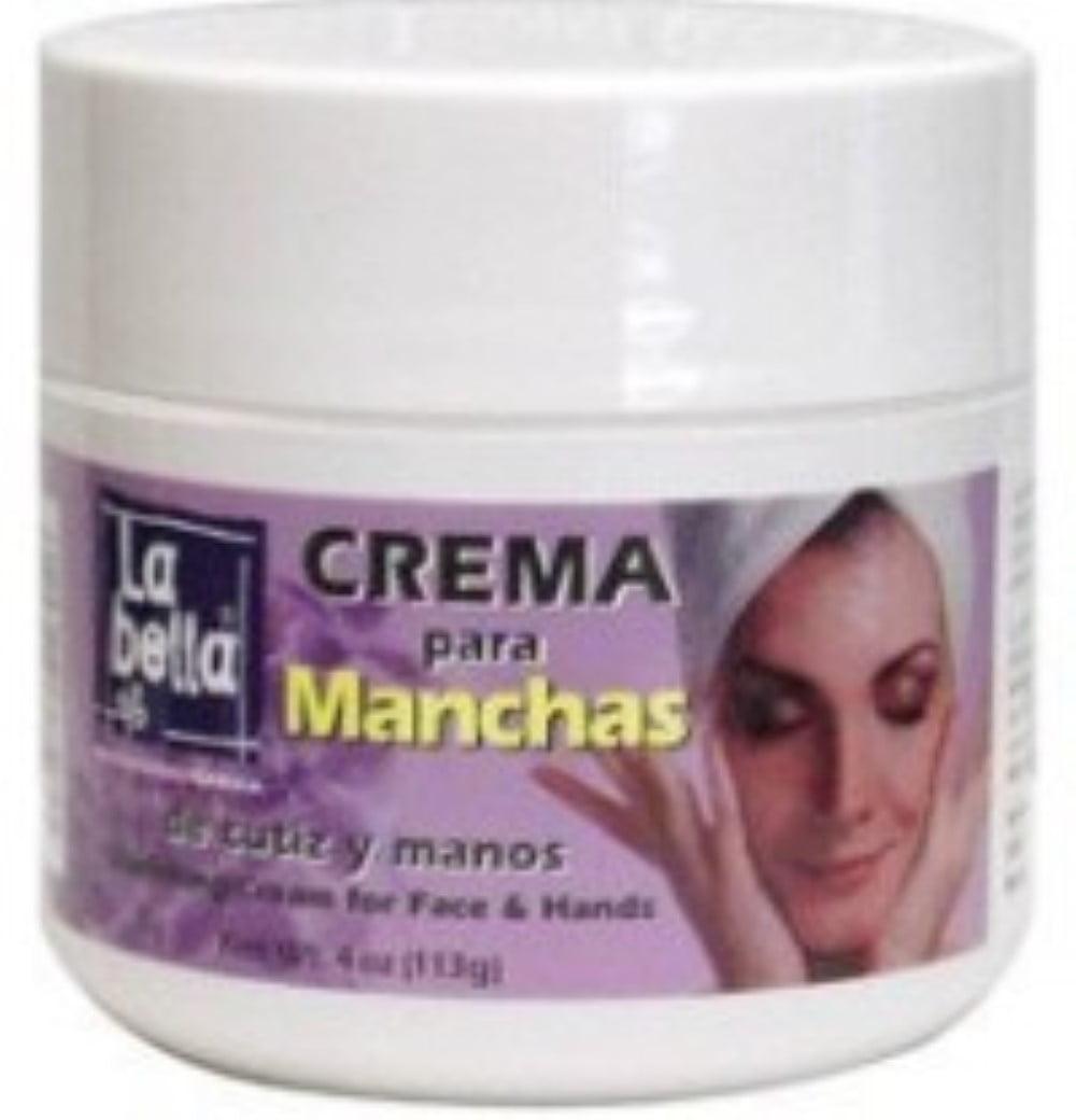 La Bella Crema Para Manchas Vanish Cream 4 oz (Pack of 6)