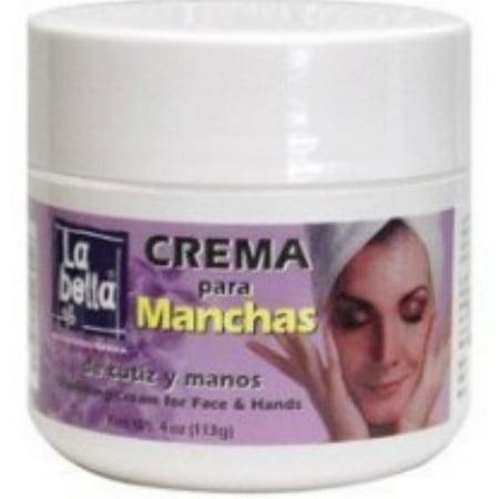 La Bella Crema Para Manchas Vanish Cream 4 oz (Pack of