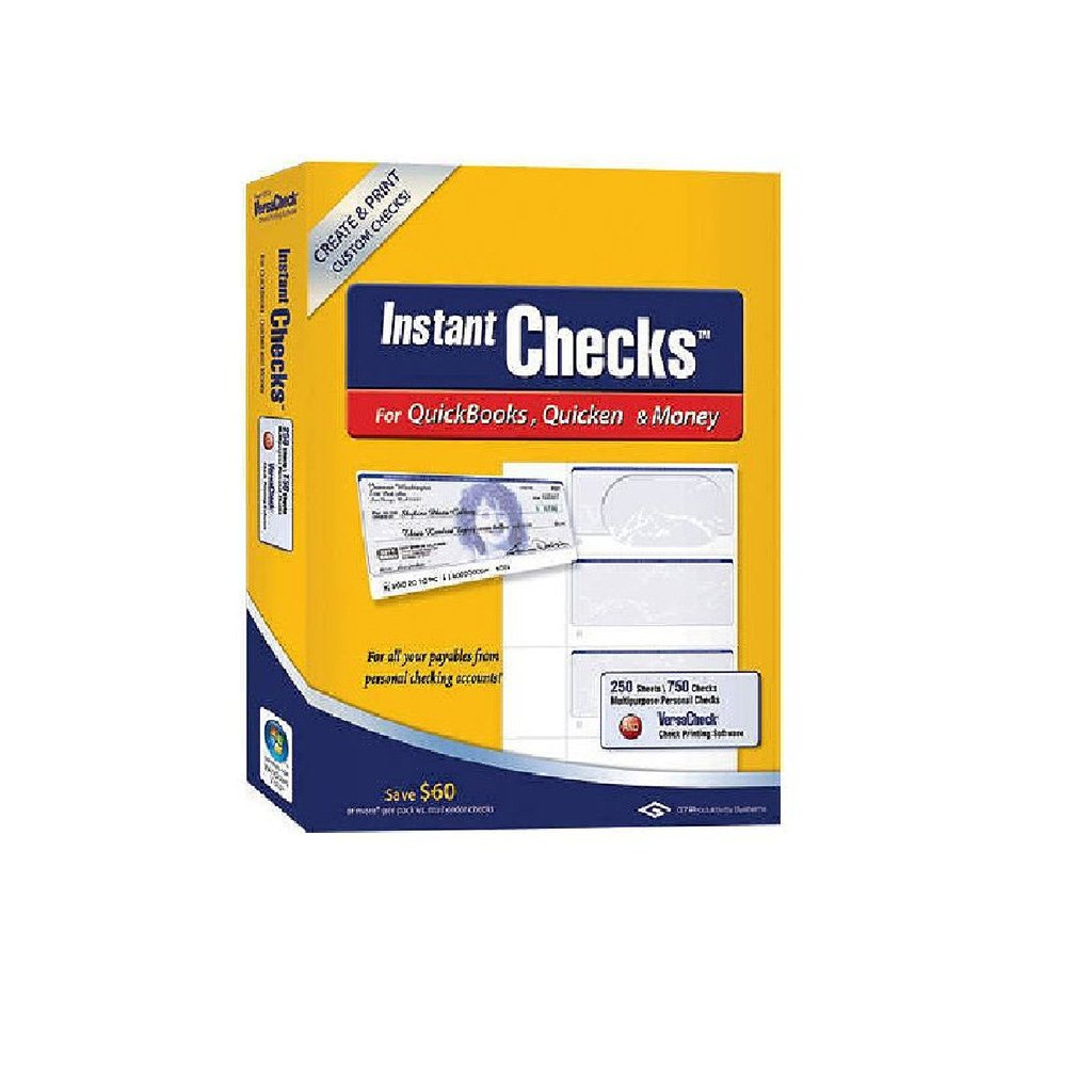 Instant Checks Personal Wallet Blue 250 pk