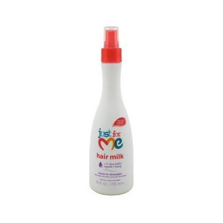 Just For Me Hair Milk Leave-In Detangler 10oz (Best Detangler For Fine Hair)