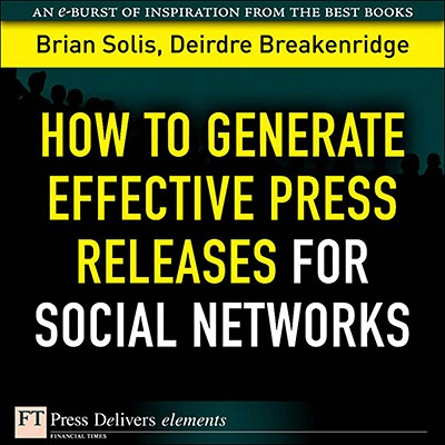 How to Generate Effective Press Releases for Social Networks - eBook