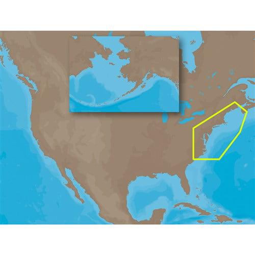 C-Map MAX NA-M320 - Passamaquoddy Bay ME-NC: Bathy - SD; ...
