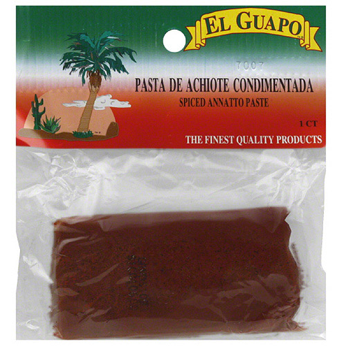 El Guapo Spiced Annatto Paste, 3.5 Oz, (