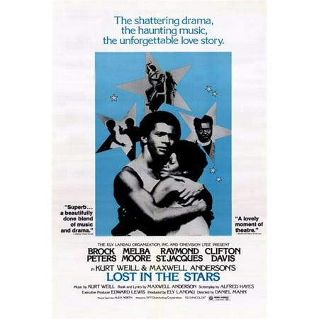 Posterazzi MOVCH0284 Lost in the Stars Movie Poster - 27 x 40 in. - image 1 de 1