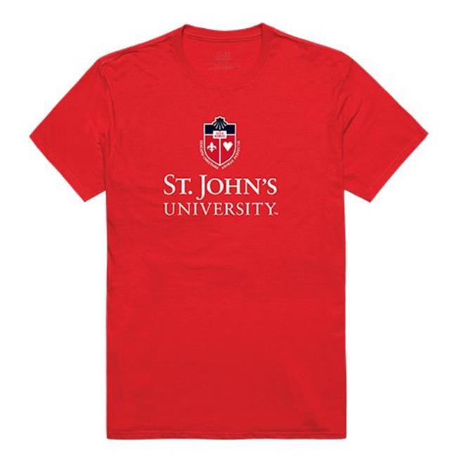 W Republic Apparel 516-152-R58-04 State Johns University Mens Institutional Tee, Red - Extra Large - image 1 of 1