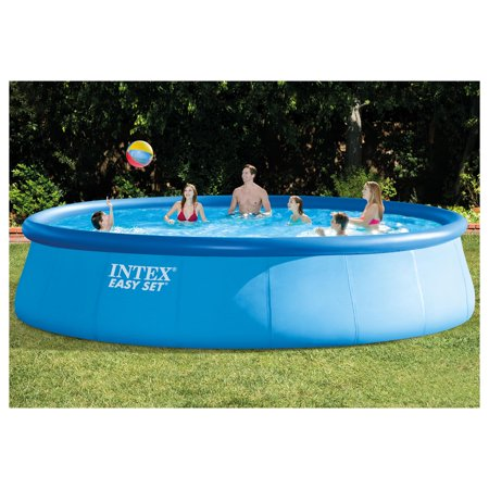 Intex 18 39 x 48 easy set above ground pool with filter Intex 18 x 48 easy set swimming pool