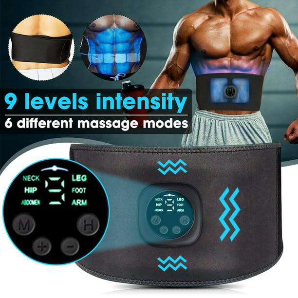 ABS Slim Stimulator EMS Abdominal Muscle Trainer Training Toning Fit Waist Belt